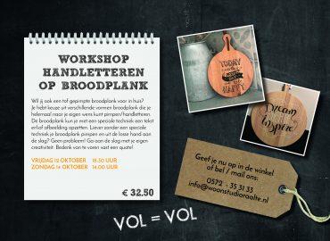 Workshop broodplank