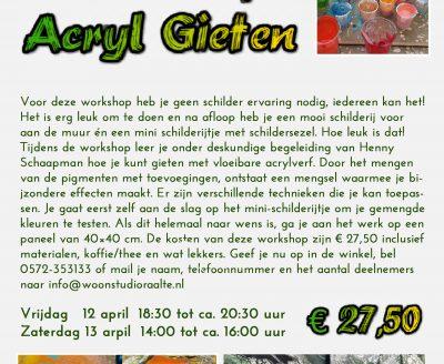 a4 winkel acryl gieten